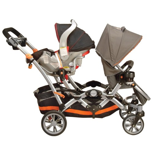 Kolcraft Contours Double Stroller Car Seat Attachment