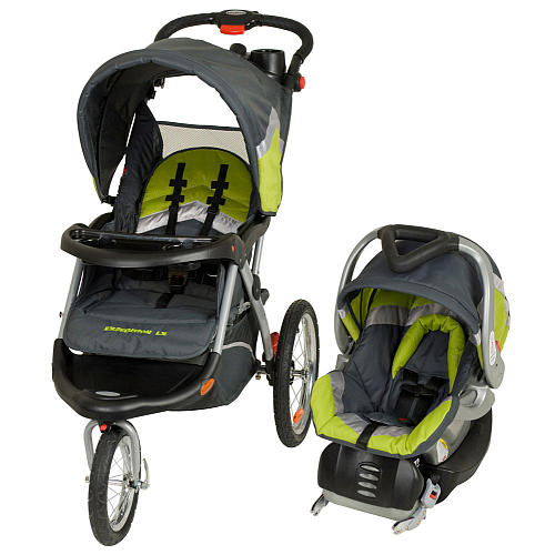 Baby Trend Expedition Elx Travel System Stroller on jeep car seat stroller